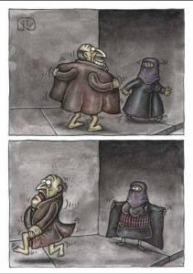 burqa flasher
