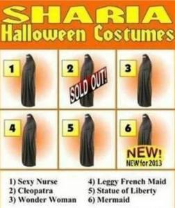 Halloween Burqas