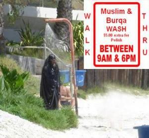 muslim & burqa wash